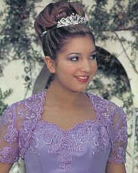 Quinceanera Hair Style